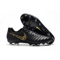Nike Tiempo Legend VII FG Men's Soccer Cleats - Black Safari