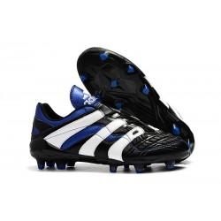 adidas Predator Accelerator FG Soccer Cleats - Black White Blue