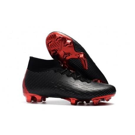 Nike Mercurial Superfly VI 360 Elite FG Nike x Jordan - Black Red
