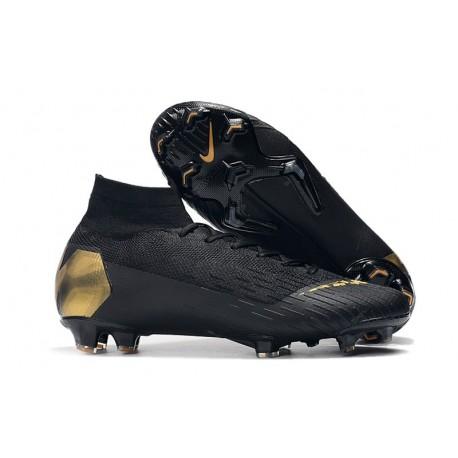 Nike Mercurial Superfly 6 Elite FG Mens Soccer Boot Black Luk