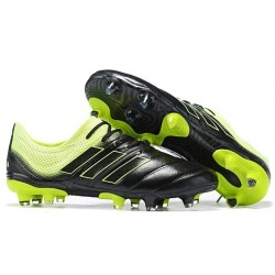 New Adidas Copa 19.1 FG Soccer Boots - Core Black Solar Yellow
