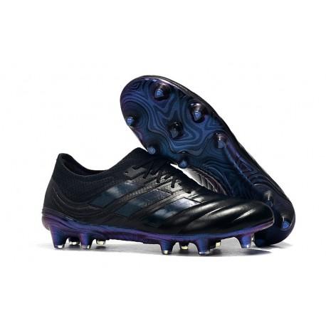 New Adidas Copa 19.1 FG Soccer Boots - Black Blue