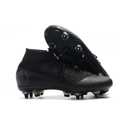 Nike Mercurial Superfly 6 Elite AC SG-Pro Cleats - All Black