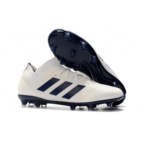 adidas Messi Nemeziz 18.1 FG White Black