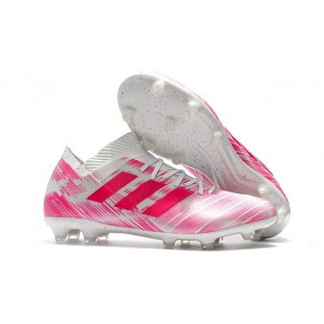 adidas Messi Nemeziz 18.1 FG Pink White