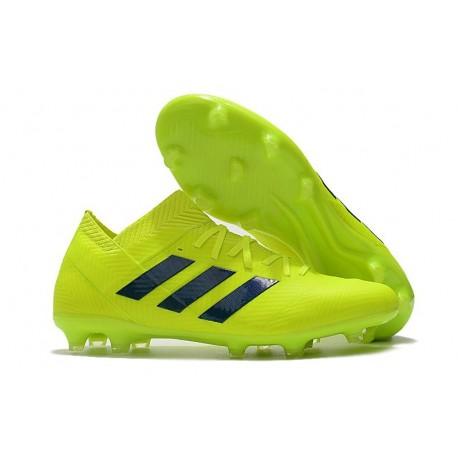 adidas Messi Nemeziz 18.1 FG Volt Black