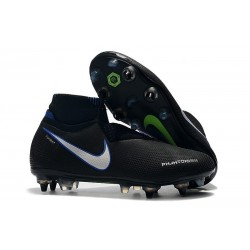 Nike Phantom VSN Shadow Elite DF SG-Pro Anti Clog Black Silver Blue