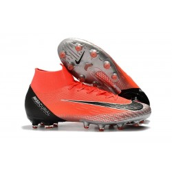 Nike Mercurial Superfly VI 360 Elite AG-Pro Cleats Crimson Black