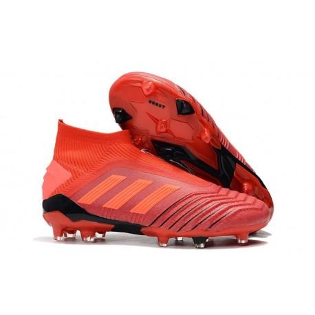 adidas Predator 19+ FG Firm Ground Boots - Red